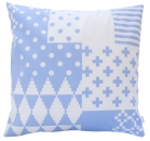 pillowcase form lavender blue