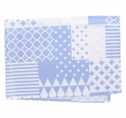 Table runner form lavender blue